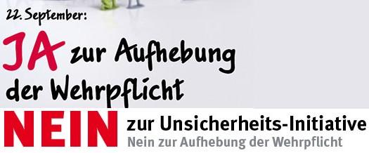 Eine Schweiz ohne Armee? – Pro und Contra