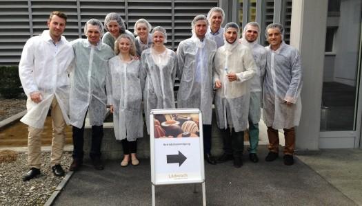 Besuch des Family Business Clubs bei der Confiseur Läderach AG