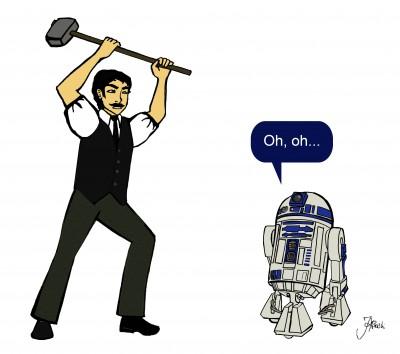Ned Ludd vs R2D2