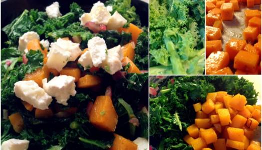 Gesunder Sattmacher: Ein warmer Herbstsalat