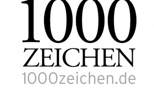 1'000 Zeichen