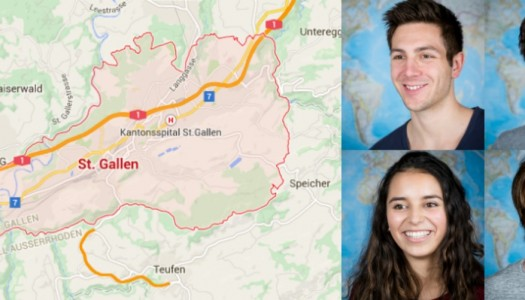 Crossing the border to St.Gallen