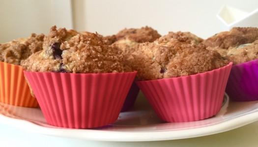 Luftig & Leicht: Heidelbeer Muffins