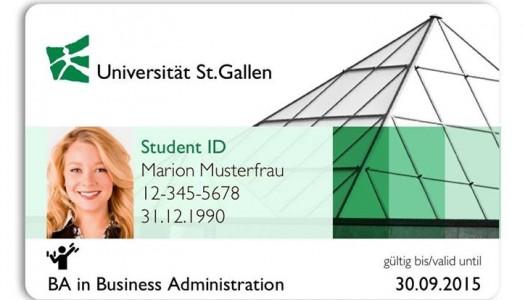 HSG Card: Das Design steht, aber es gibt ein Problem