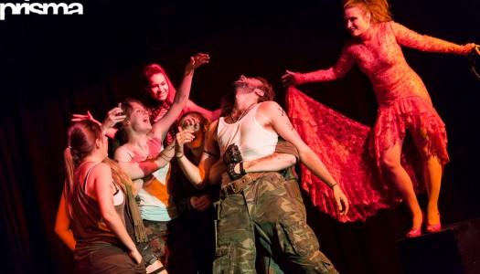 Blutige Bildstrecke: Das Studententheater präsentiert Shakespeares «Macbeth»