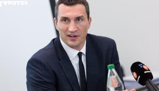 Klitschko: «Du bist die bewegende Kraft»