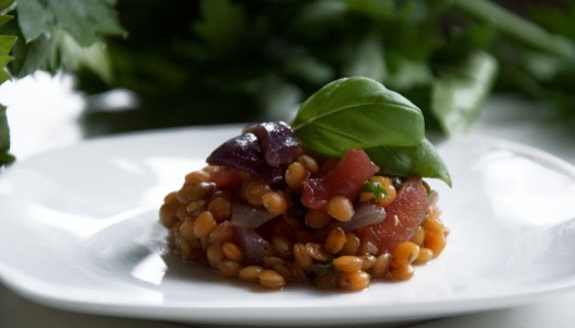 Cheap, Quick and Delicious – Lentil Salad