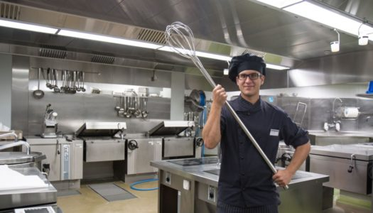 Der Mann, der für uns bis zu 500 Kilogramm Essen am Tag kocht